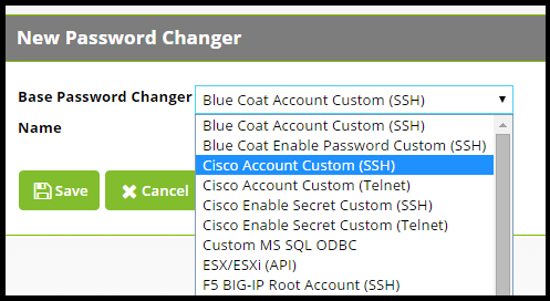 How to create a custom SSH password changer